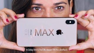 DURAS PRUEBAS del iPHONE XS MAX