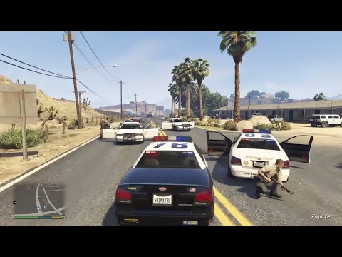 GTA 5 COPS Episode 1 - Xbox One HD - Officer De Santa Patrol