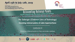 Counting rational points of cubic hypersurfaces - Salberger - Workshop 1 - CEB T2 2019