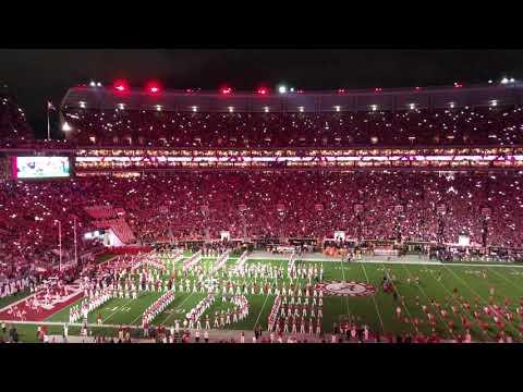 Alabama Football's New LED Lights & Team Entrance Are AMAZING!