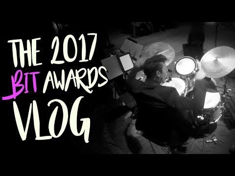 VIDEO GAME House Band Gig - the 2017 Bit Awards   Gig Vlog #19