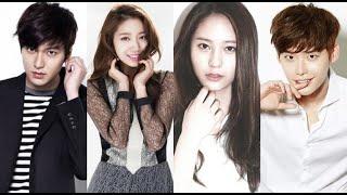 Park Shin Hye, Lee Min Ho, Lee Jong Suk, and Krystal win popularity awards at 51st