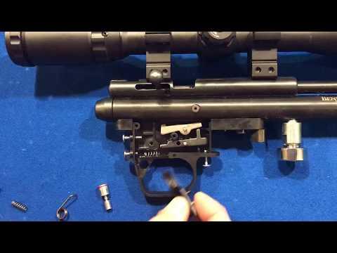 1.5 lb Benjamin Maximus Hunter Trigger Job Crosman Discovery Mods 2 3 screw