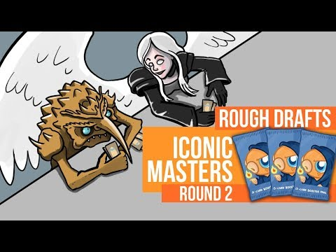 Rough Drafts: Iconic Masters (Round 2)