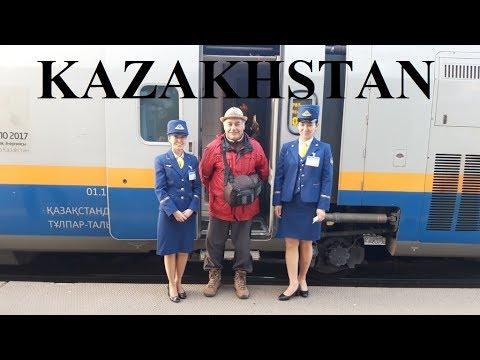 Kazakhstan/Almaty to Astana by Train (1291 km 14 hrs) Part 1