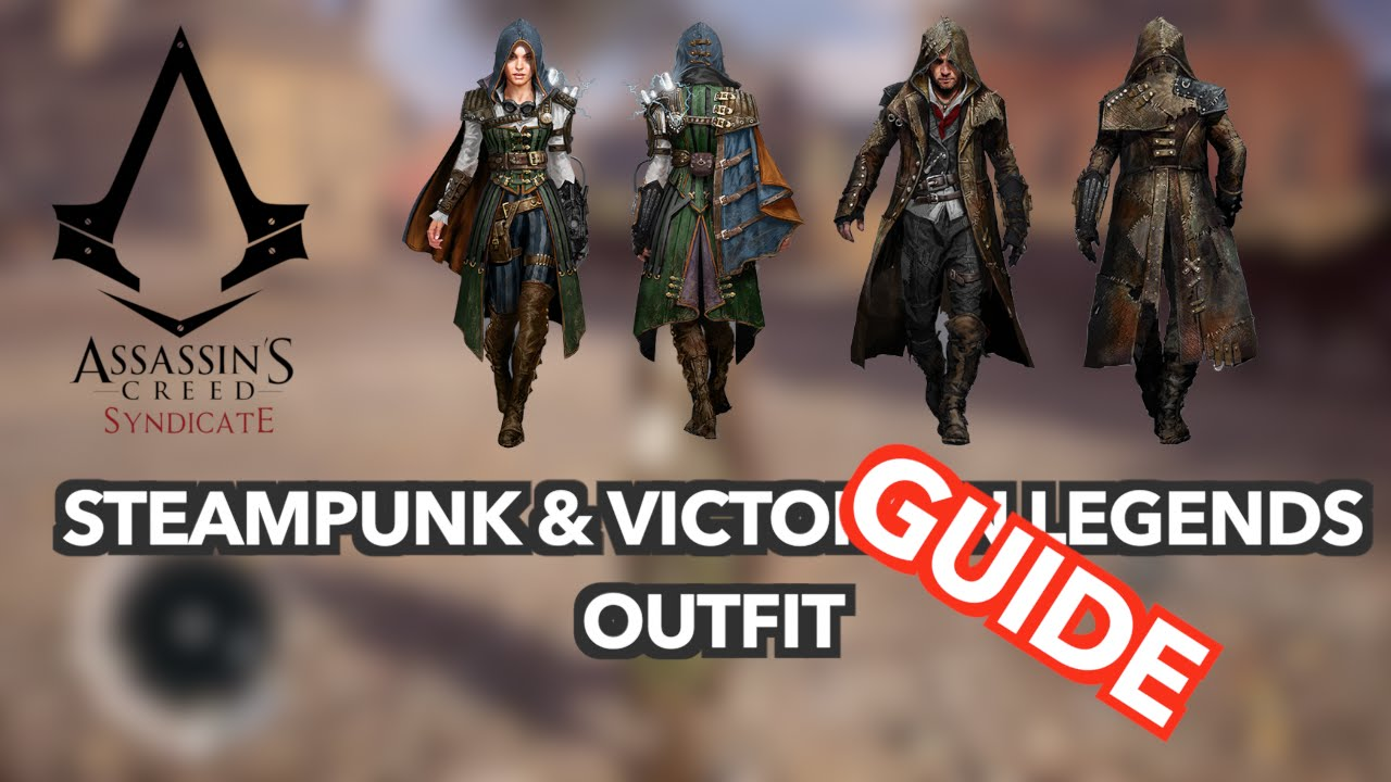 Ac Syndicate Free Steampunk Victorian Legends Outfit Evie