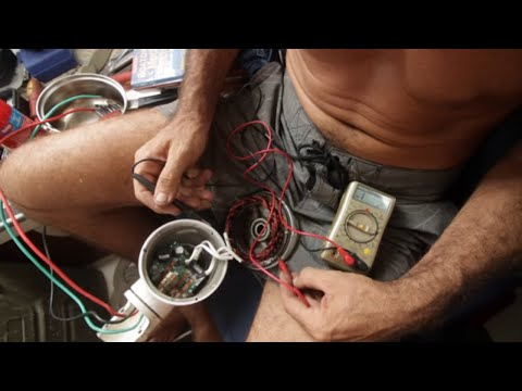 Repairing our Wind Generator in the Stormy Straits - Free Range Sailing Ep 35