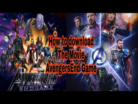 Download How to download Avengers End Game /Before Release in india / Avenger s End game