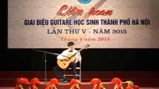 Nguyễn Trần Phương giải nhất bảng B liên hoan giai điệu guitar