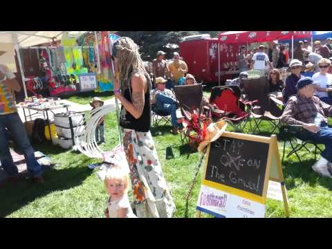 The Fun Tent in Lake City Uncorked Wine and Music Festival by Moma Dance Gifts