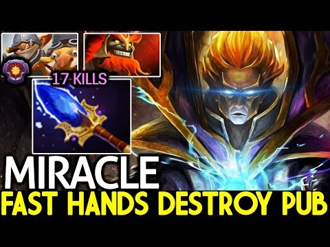 Miracle- [Invoker] Imba Fast Hands Destroy Pub Gameplay 7.21 Dota 2 thumbnail