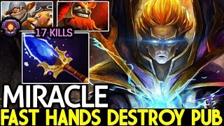 Miracle- [Invoker] Imba Fast Hands Destroy Pub Gameplay 7.21 Dota 2