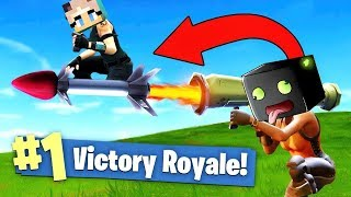 NOOBS WIN WITH THIS GLITCH! - Fortnite Battle Royale [English/HD]