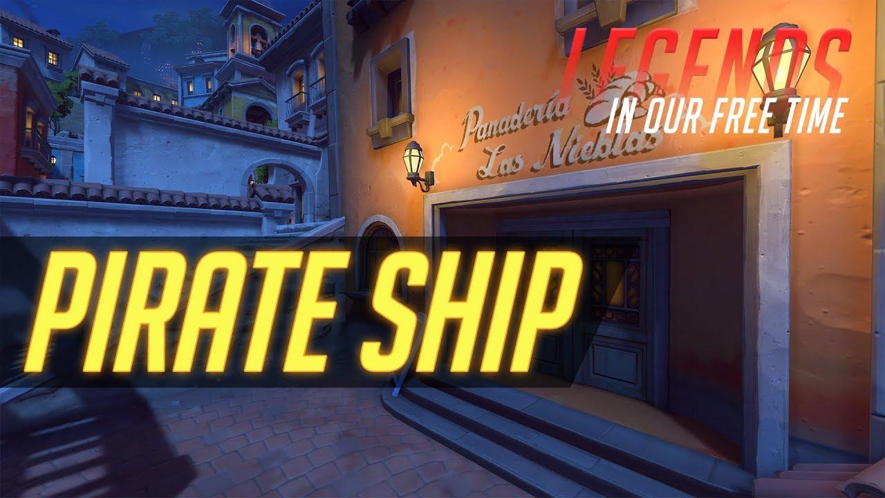 pirate ship overwatch # 13