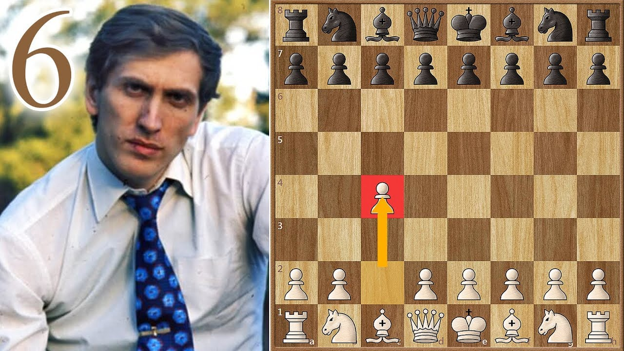 """Download """"The Applause""""   Fischer vs Spassky   (1972)   Game 6"""