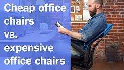 Cheap Office Chairs vs. Expensive Office Chairs