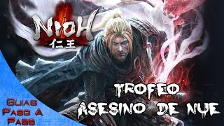 Video de Nioh | Trofeo: Asesino de Nue (Misión El demonio del monte Hiei)