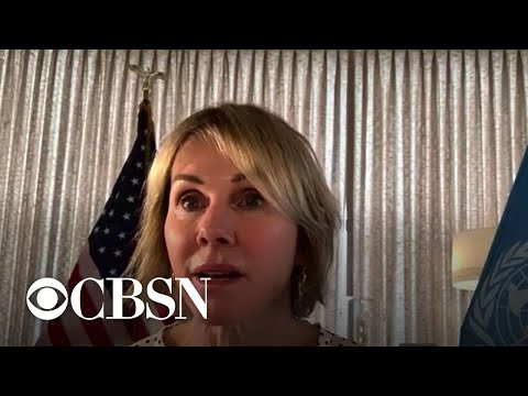 CBS News exclusive interview with U.S. Ambassador to the U.N. Kelly Craft