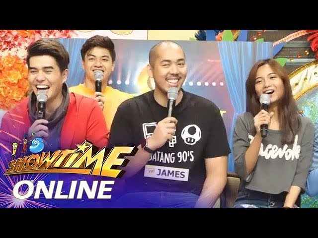 It's Showtime Online: James Caraan admits Donna Cariaga is his greatest competitor