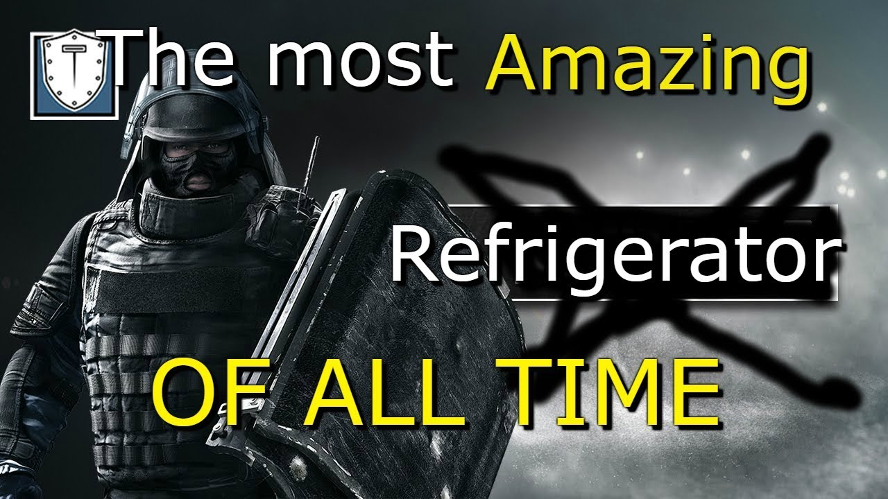 The most AMAZING Refrigerator of all time {Rainbow six ...