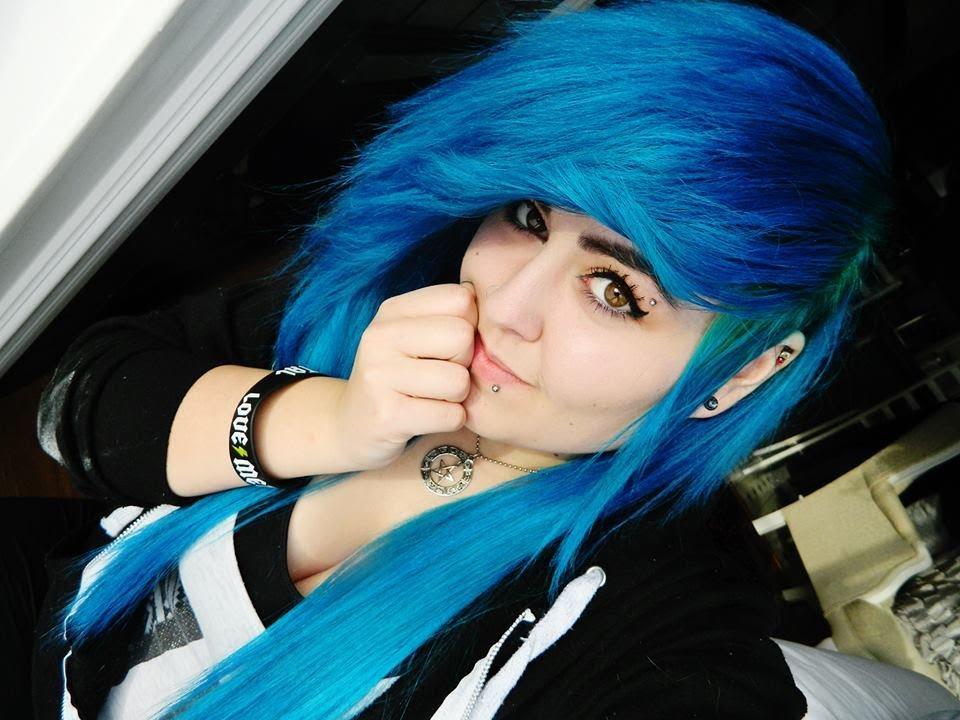c55771e406e DYING HAIR BLUE AQUA TURQUOISE   D - YouTube