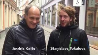 """Andris Keišs un Staņislavs Tokalovs par filmu """"Tas, ko viņi neredz"""""""