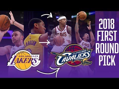 Jordan Clarkson, Larry Nance Jr. To Cavs For Isaiah Thomas, Channing Frye, 2018 First-Round Pick