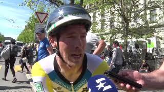 Rohan Dennis - post-race interview - Prologue - Tour de Romandie 2018