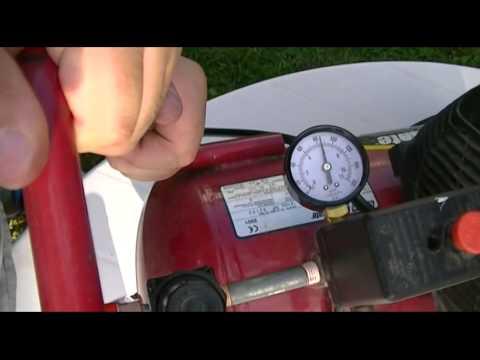 Coleman PowerMate 6 Gallon Air Compressor Repair, Part 1