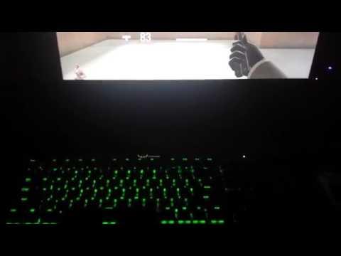 TF2 Health on Keyboard K70 RGB