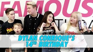Dylan Conrique's 14th Birthday