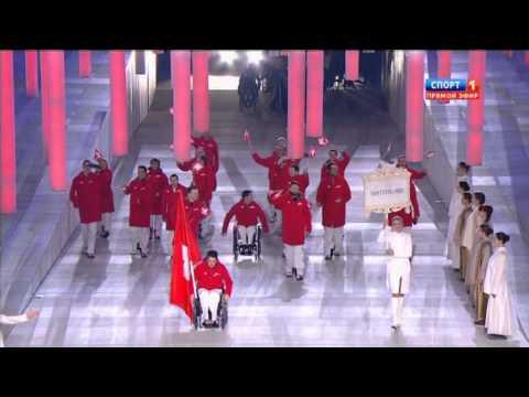 Паралимпиада 2014  Открытие  Спорт 1
