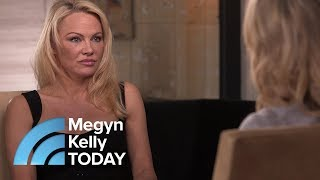 connectYoutube - Pamela Anderson Opens Up About Her Trauma As A Victim Of Childhood Sexual Abuse | Megyn Kelly TODAY