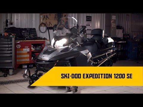 Обзор снегохода Ski-Doo Expedition 1200 SE
