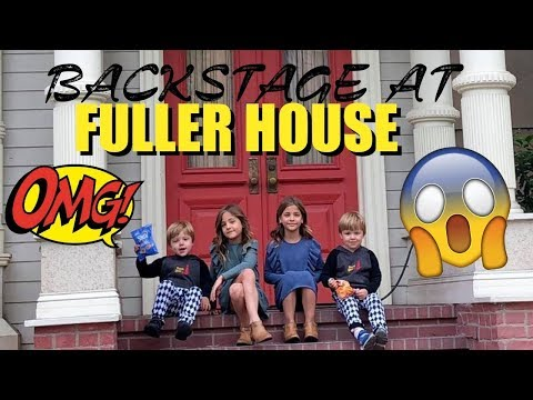 FULLER HOUSE Behind the Scenes SNEAK PEEK - Guests Clements Twins