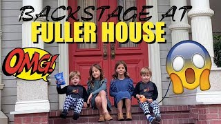 FULLER HOUSE Behind the Scenes SNEAK PEEK - SPECIAL Guests CLEMENTS TWINS
