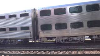 Railfanning Video - Metra, Amtrak, and Freight Trains at Hinsdale, IL (PM Rush Hour - 7/17/2015)