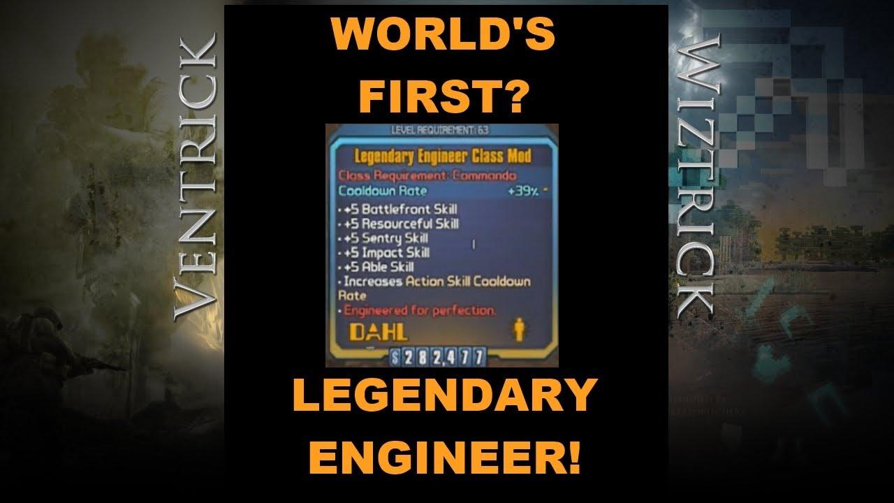 BL2: LIVE! World's First Legendary Engineer? (Borderlands 2 Ultimate  Upgrade Pack 2)