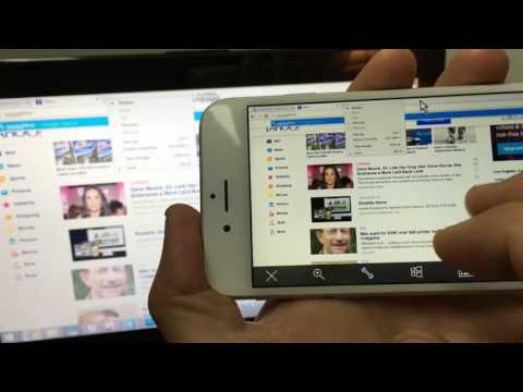 How to Control Laptop or PC with Remote iPhone/iPad/iPod - Also Mirror iPhone to Laptop