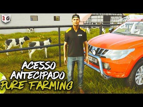 PURE FARMING 2018 : ACESSO ANTECIPADO APRESENTANDO O JOGO PT BR