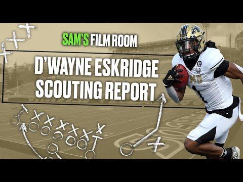 Film Room: How D'Wayne Eskridge makes the Seahawks offense more EXPLOSIVE | NFL Draft 2021