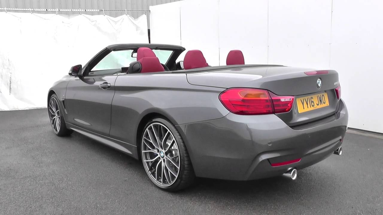 bmw 4 series convertible f33 440i m sport convertible. Black Bedroom Furniture Sets. Home Design Ideas