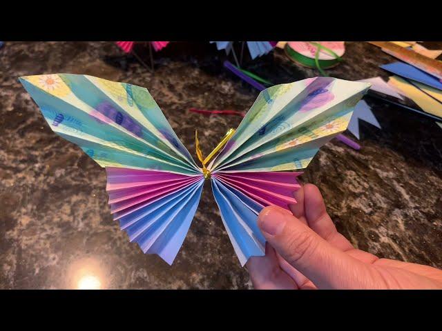 Easy DIY Paper Butterflies