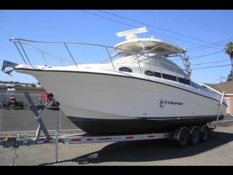 Striper 29' Fishing Boat 2901WA  With Twin Diesel ES200