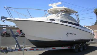 Striper 29' Fishing Boat 2901WA  with Twin Diesel ES200