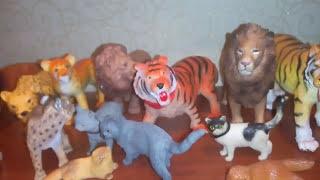 Мои фигурки кошек :3