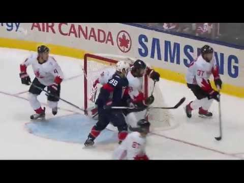 World Cup of Hockey G2 Can vs USA