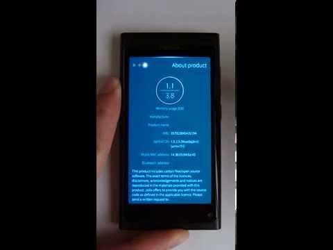 Nokia N9 - Ubiboot (MeeGo, Android, Sailfish OS)