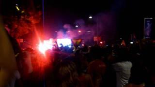 Fußball-WM-Finale 2010 live in Madrid. Spanien ist Weltmeister!
