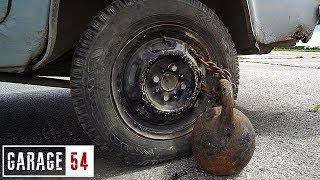 видео: 32 кг ГИРЯ к КОЛЕСУ, ЧТО БУДЕТ если ПОЕХАТЬ?
